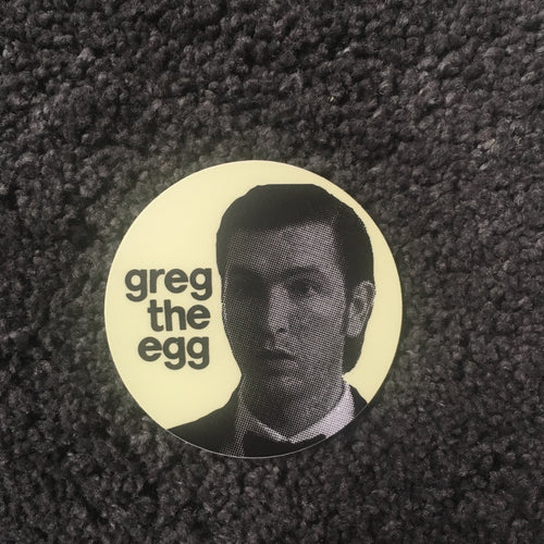 Greg the Egg Succession sticker