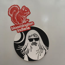 Bloomington Indiana Squirrel magnet