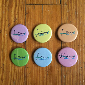 LaCroix Indiana button + magnet | badkneesTs