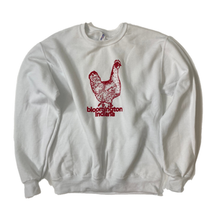 Bloomington Indiana Chicken Sweatshirt