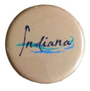 LaCroix Indiana button / magnet