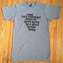 Kurt Vonnegut David Byrne | badkneesTs
