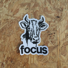 Focus Cow sticker - badkneesTs | badkneesTs