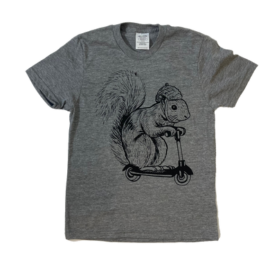 Squirrel on a Bird T-shirt - Youth