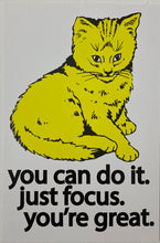 Focus Cat Postcard