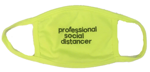 professional social distances mask