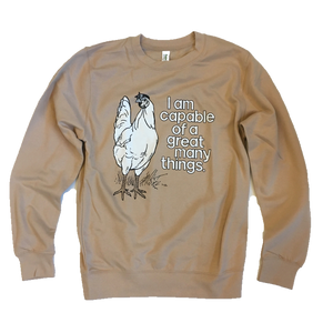 The Positive Chicken Sweatshirt