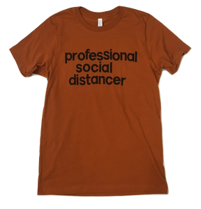 Professional Social Distancer T-shirt
