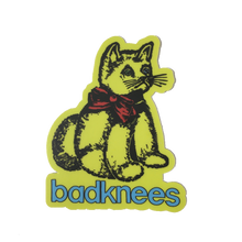 badknees cat sticker
