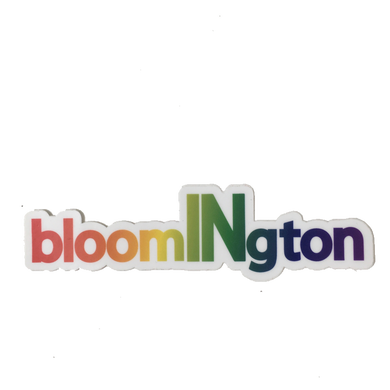 bloomington indiana pride sticker