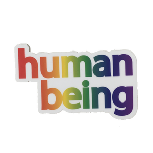 human being pride sticker
