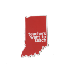 teachers want to teach sticker