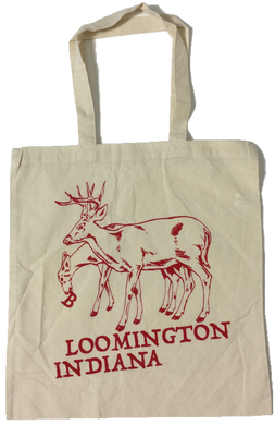 Bloomington Indiana Deer Tote Bag