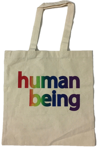Human Being Pride Tote Bag