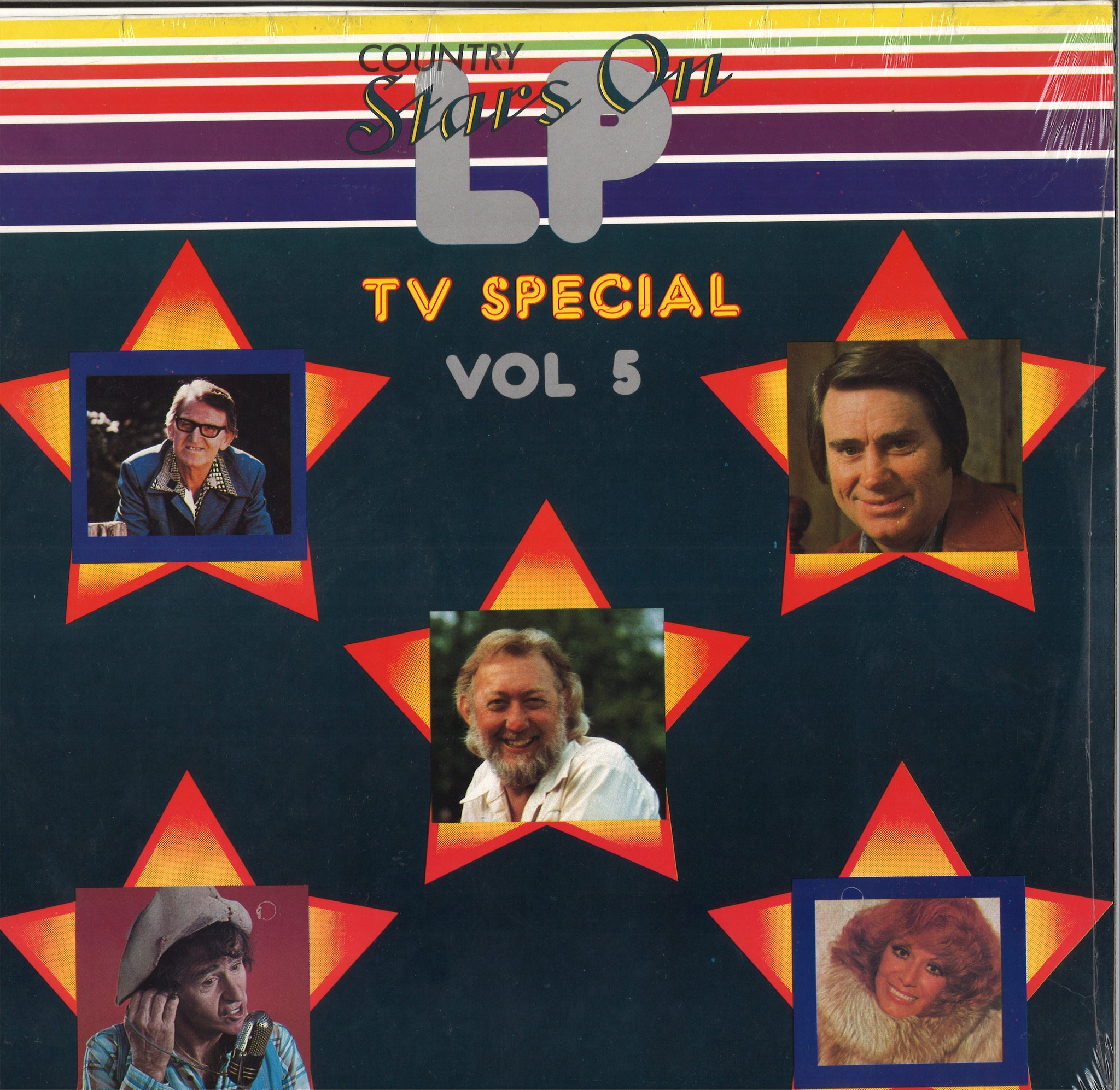Various Artists Country Stars On LP TV Special Vol 5