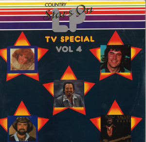 Various Artists Country Stars On LP TV Special Vol 4