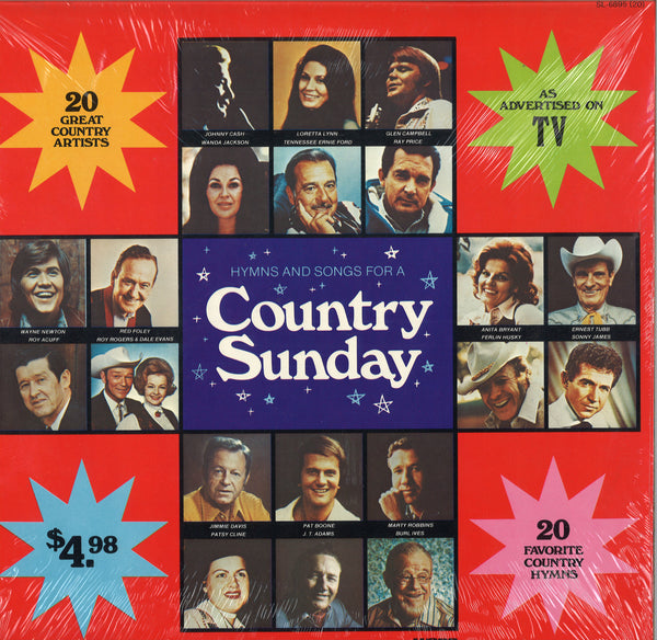 Various Artists Hymns and Songs For a Country Sunday