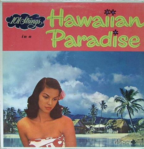 101 Strings Orchestra Hawaiian Paradise: 2 LP Set