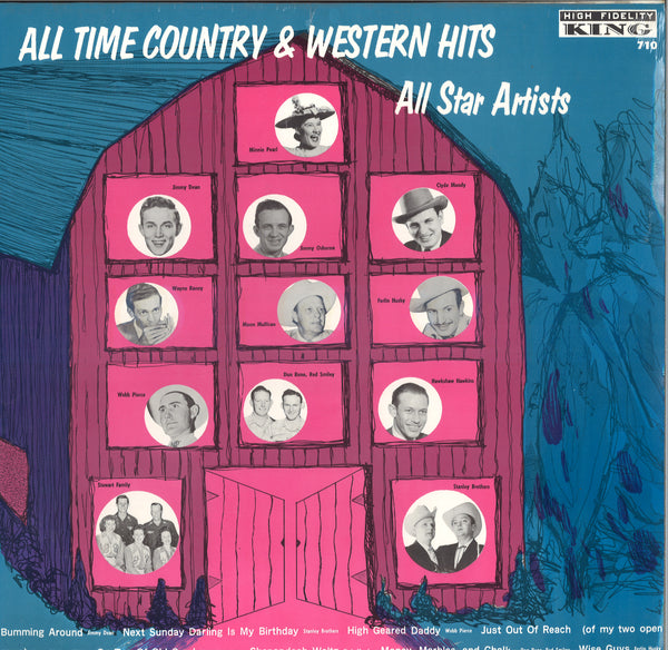 Various Artists All Time Country & Western Hits