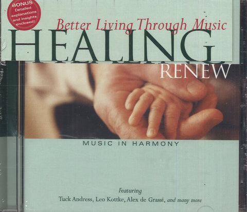 Various Artists Healing: Renew - Music In Harmony