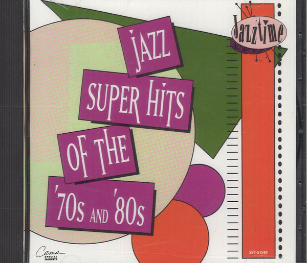 Various Artists Jazz Super Hits Of The '70s& '80s