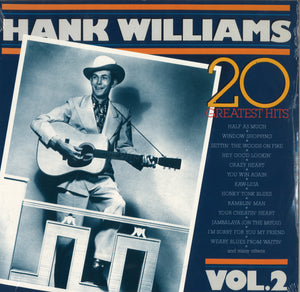 Hank Williams 20 Greatest Hits Vol. 2