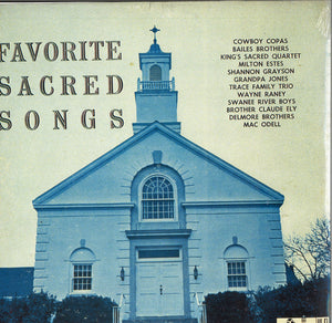 Various Artists Favorite Sacred Songs