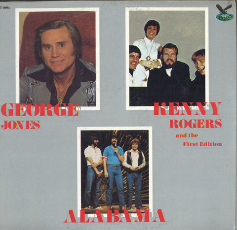 George Jones, Alabama, Kenny Rogers & The First Edition