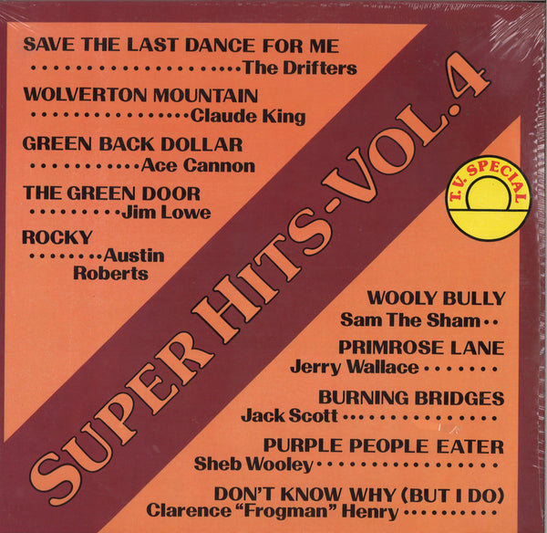 Various Artists Super Hits - Vol. 4