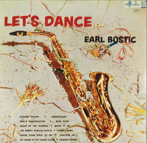 Earl Bostic Let's Dance