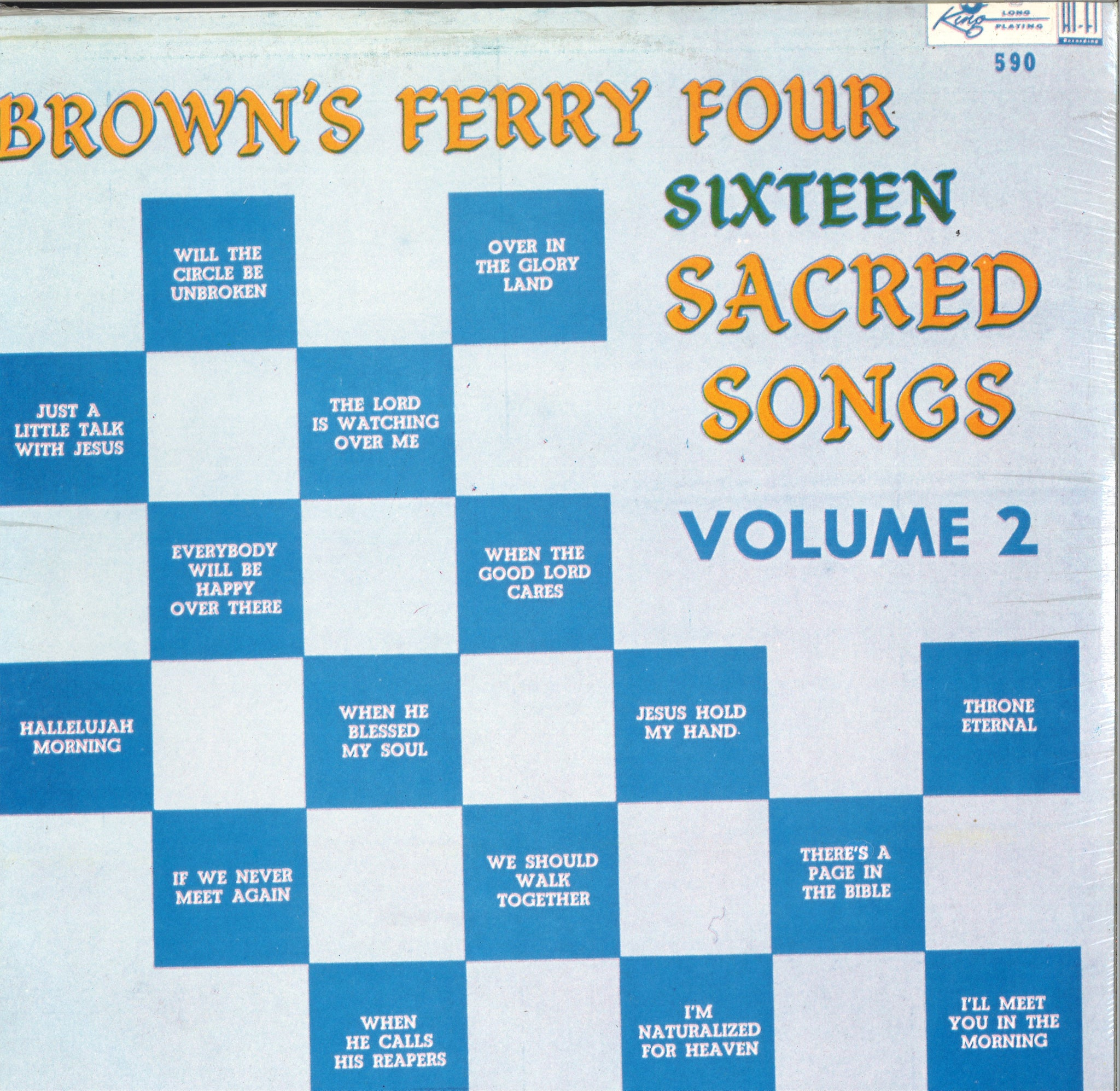 Brown's Ferry Four Sacred Songs Volume 2