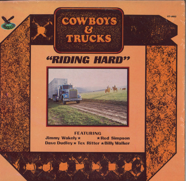 Various Artists Cowboys & Trucks: Riding Hard
