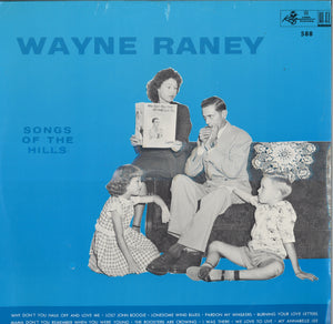 Wayne Raney Songs Of The Hills LP