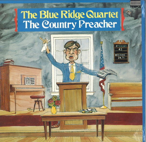 The Blue Ridge Quartet The Country Preacher