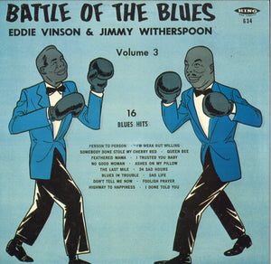 Eddie Vinson & Jimmy Witherspoon Battle Of Blues Volume 3