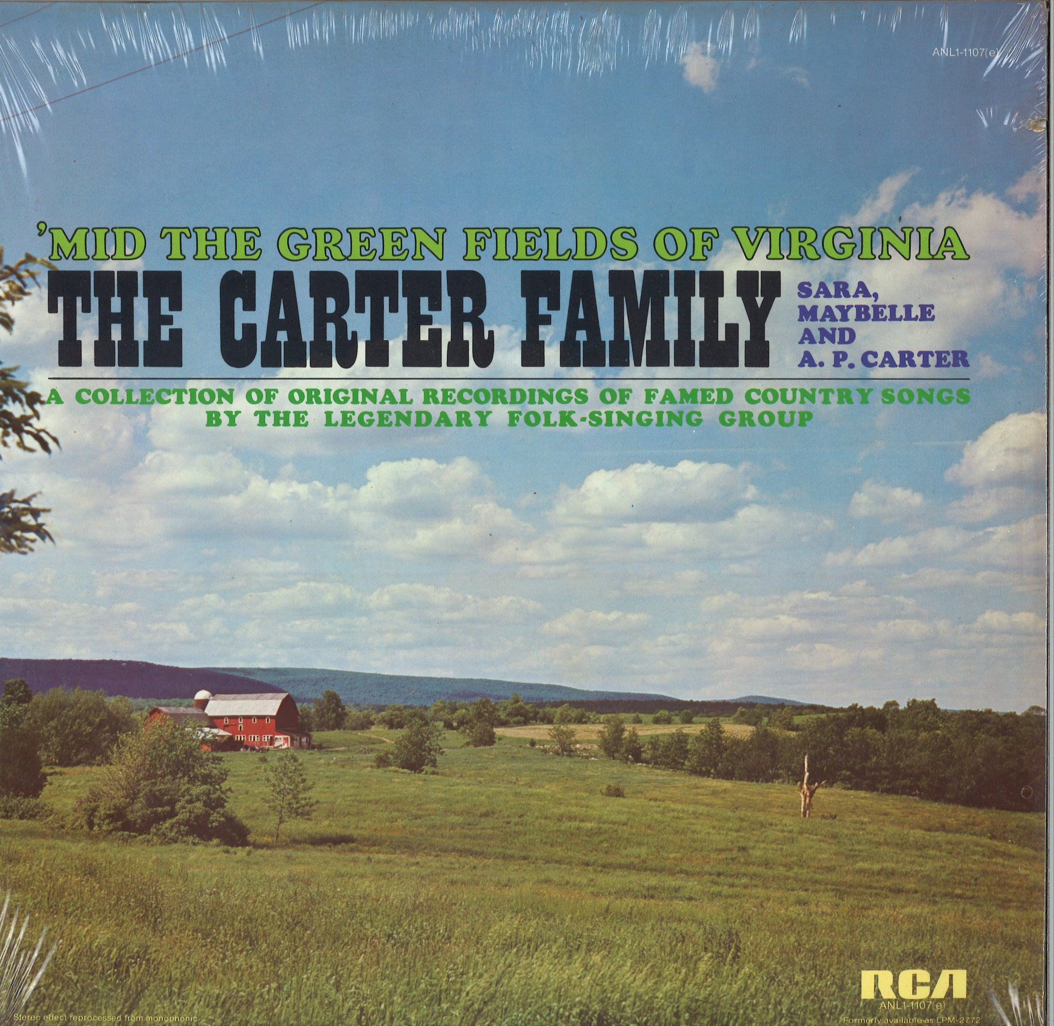 The Carter Family 'Mid The Green Fields Of Virginia