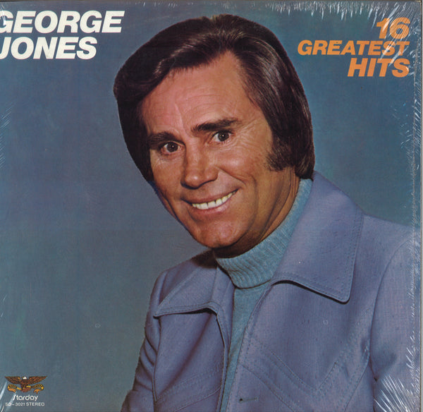 George Jones 16 Greatest Hits