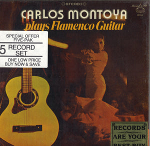 Carlos Montoya Plays Flamenco Guitar: 5 LP Set