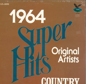 Various Artists Super Hits 1964 Country