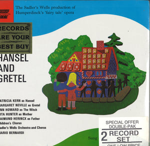 Sadler's Wells Hansel And Gretel: 2 LP Set