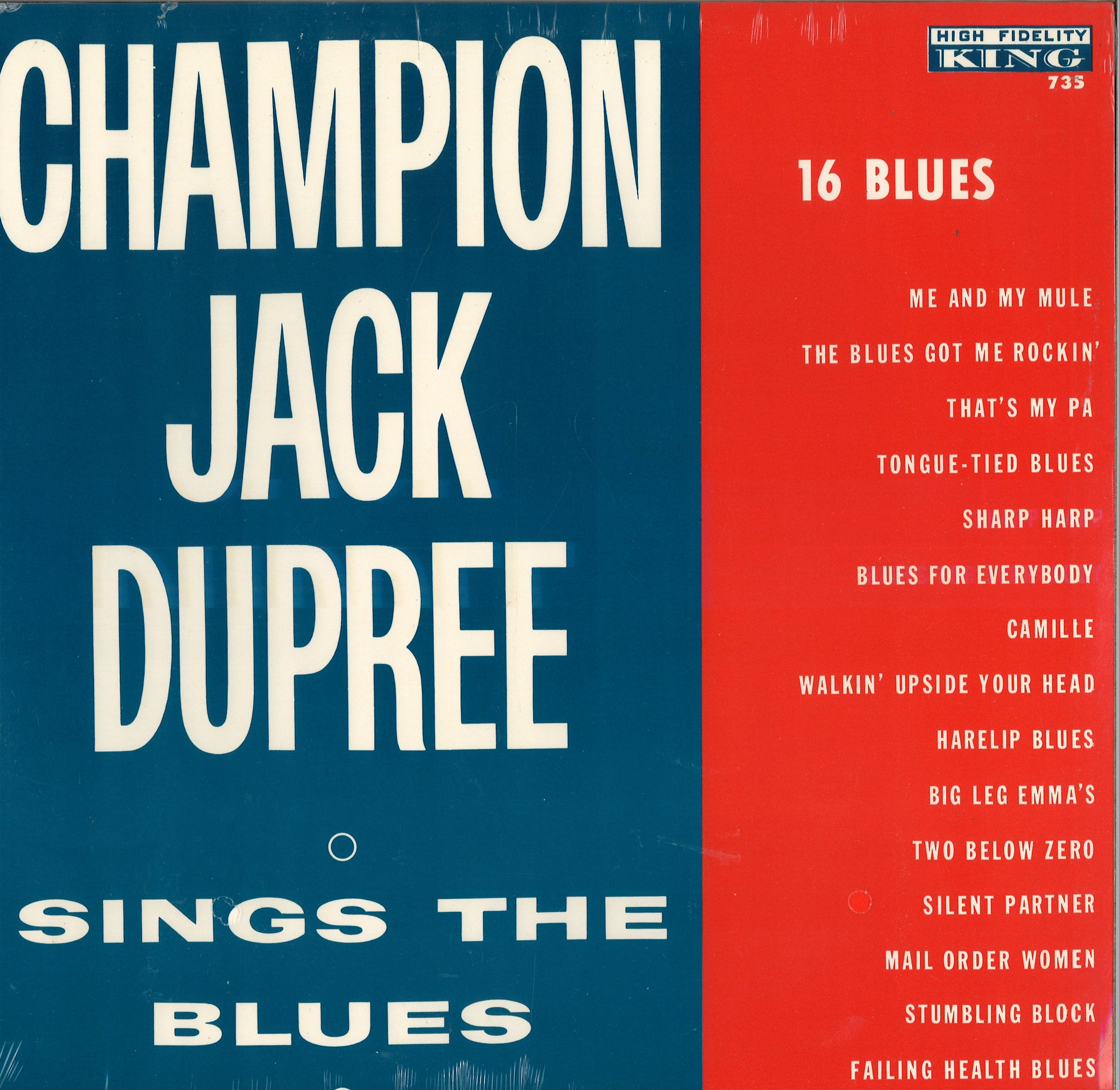Champion Jack Dupree Sings The Blues