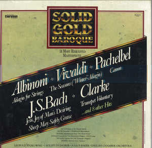 Various Artists Solid Gold Baroque