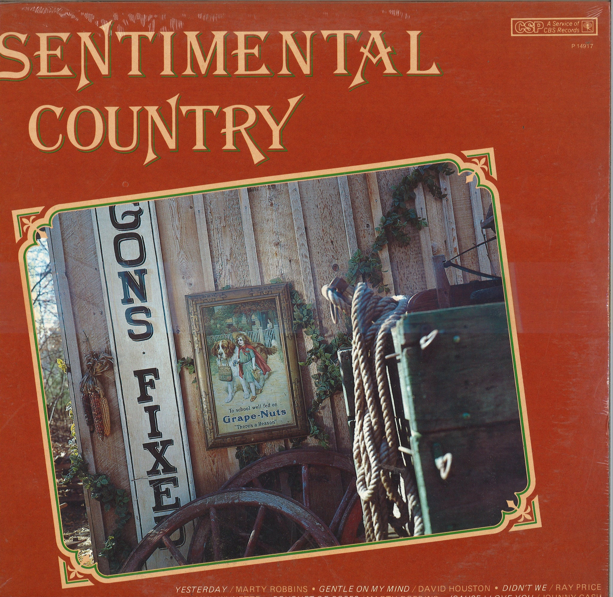 Various Artists Sentimental Country