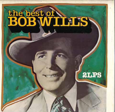 The Best Of Bob Wills: 2 LP Set