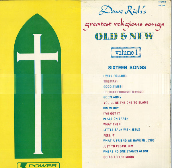 Dave Rich's Greatest Religious Songs Old & New Volume 1