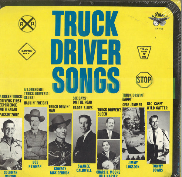 Various Artists Truck Driver Songs