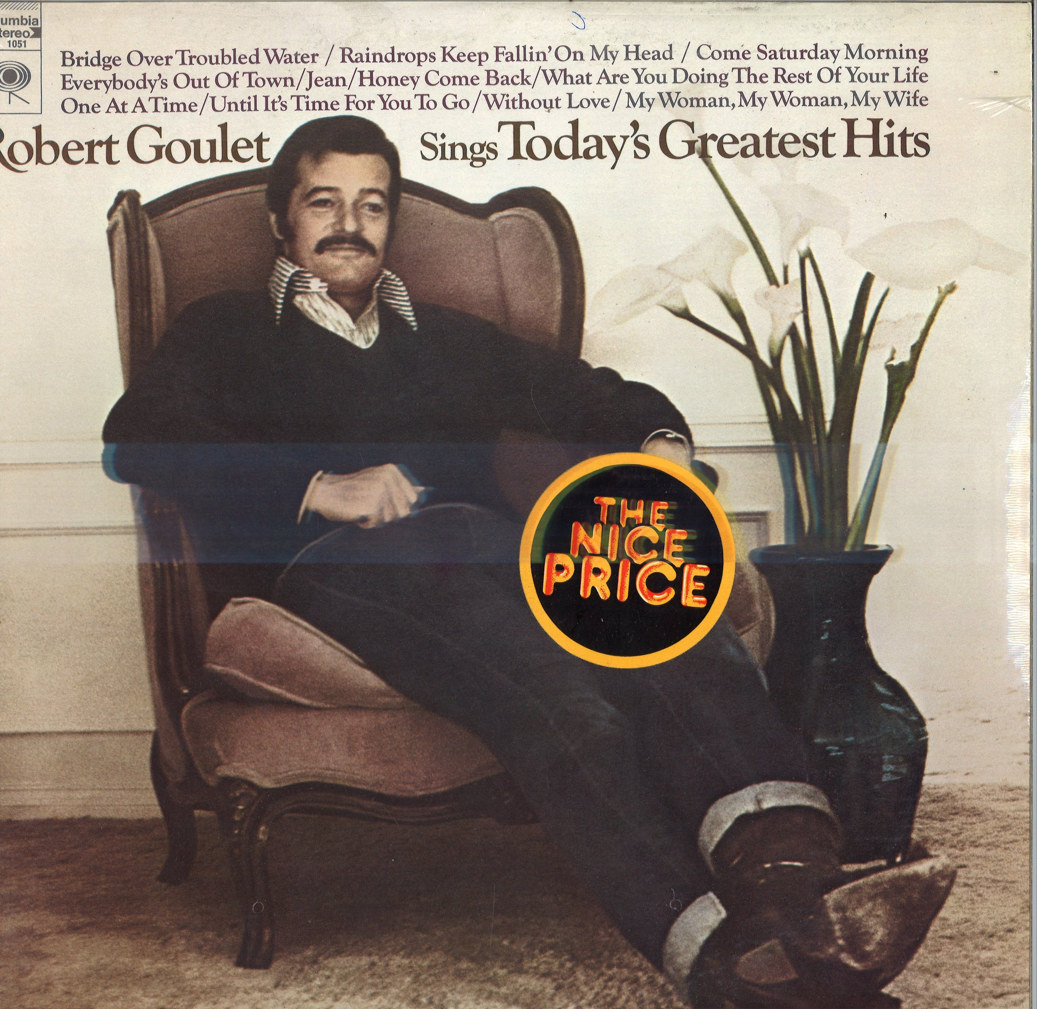Robert Goulet Sings Today's Greatest Hits
