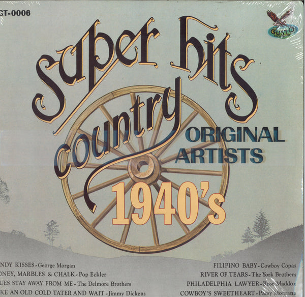 Various Artists Super Hits Country 1940's