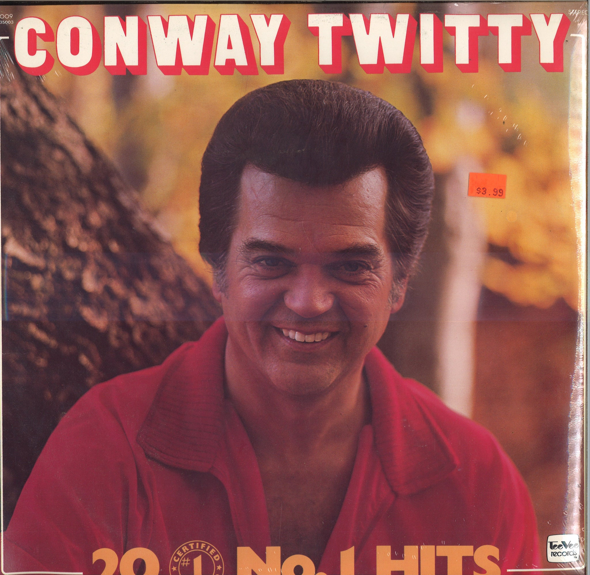 Conway Twitty 20 Certified No. 1-Hits