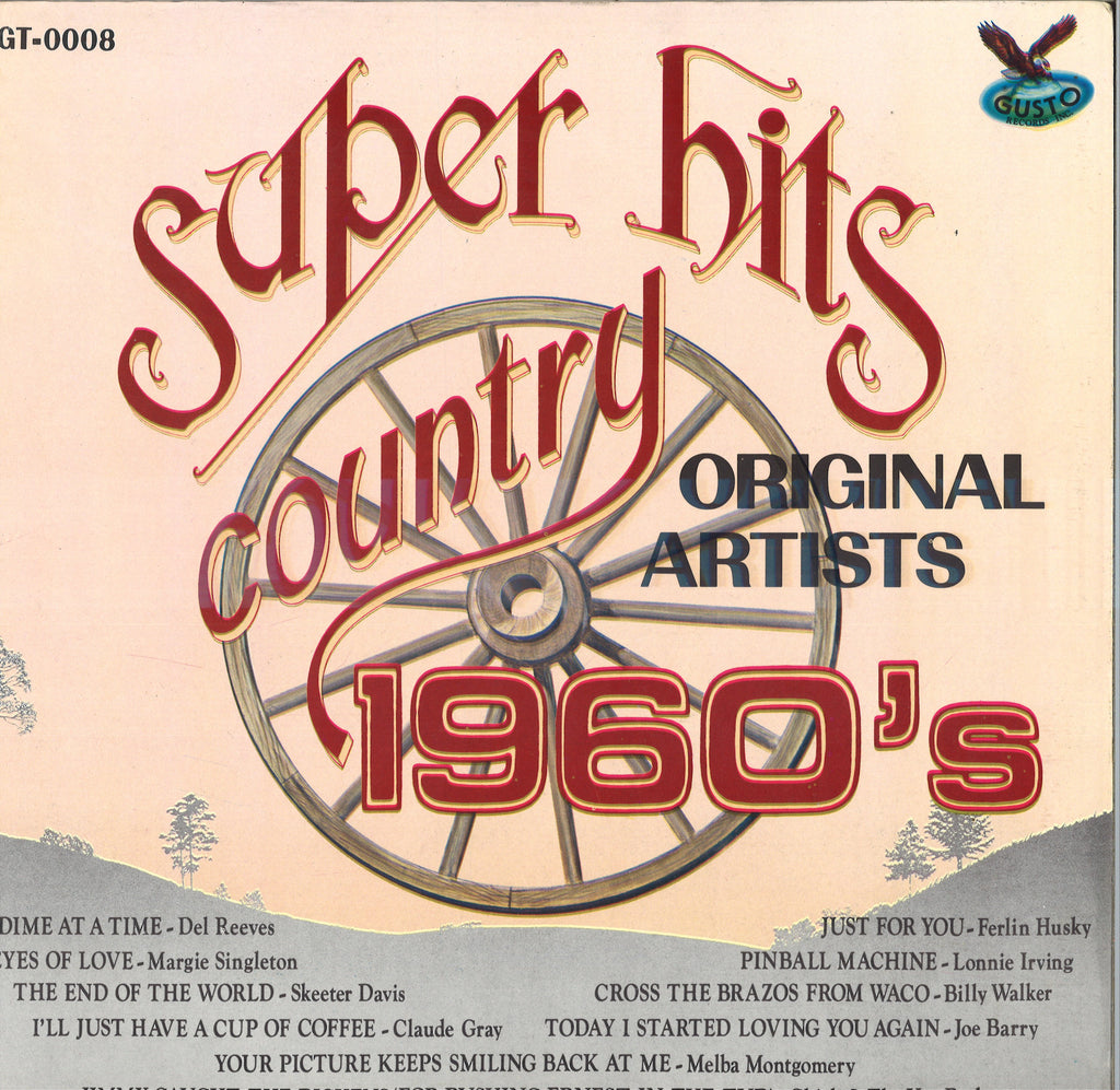 Various Artists Super Hits Country 1960's